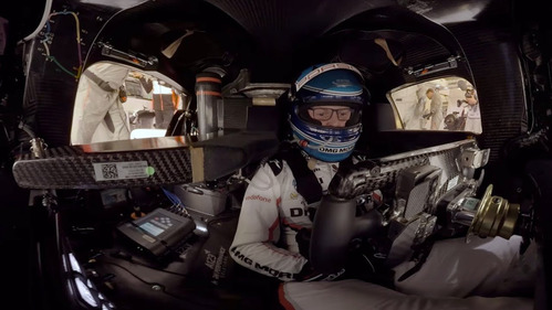 Porsche показал круг в Ле-Мане, снятый на 360-градусную камеру.Новости Am.ru