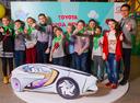 Работы c конкурса детского рисунка Автомобиль мечты от Toyota.