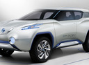 Nissan создаст кроссовер Terra на базе электромобиля Leaf