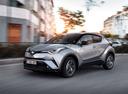 В России будет продаваться Toyota C-HR.