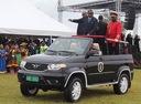 Парадный кабриолет UAZ Patriot появился на параде в Намибии.Новости Am.ru