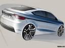 Раскрыт дизайн нового «стайлбека» Tata Tigor.